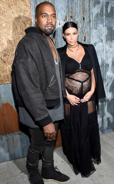 Kim Kardashian... HAMİLE TRANSPARANI! galerisi resim 3