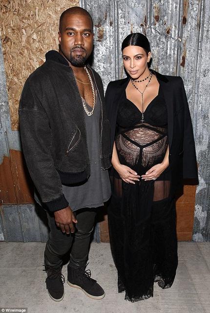 Kim Kardashian... HAMİLE TRANSPARANI! galerisi resim 4