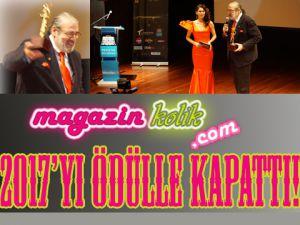 """""""YILIN EN""""LERİ ÖDÜLLENDİRİLDİ!"""