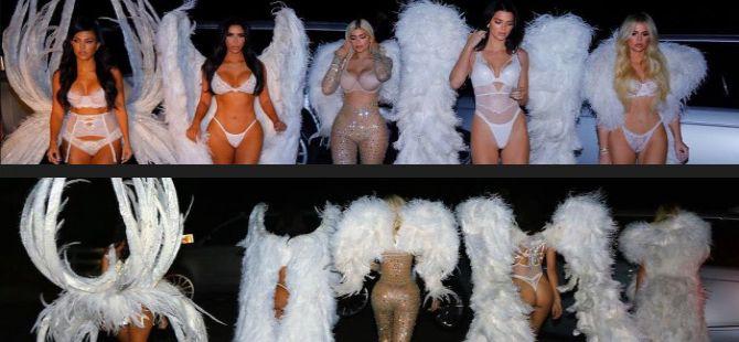 Kardashian/Jenner Ailesi… CADILAR BAYRAMI İÇİN VİCTORİA'S SECRET ME