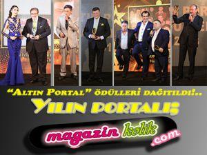 """""""ALTIN PORTAL"""" ÖDÜLLERİ ÇOK RENKLİ GÖRÜNTÜLERLE DAĞITILDI…"""