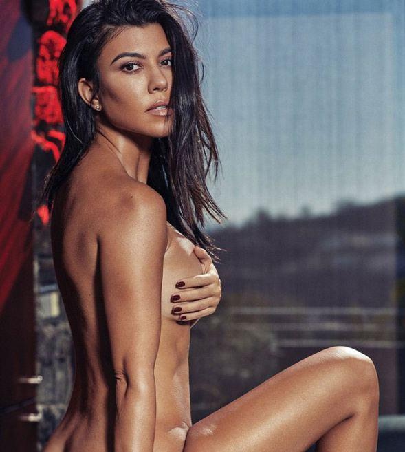 Kourtney Kardashian... ÇIPLAK POZLARI NEFESLERİ KESTİ!.. galerisi resim 2