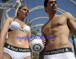 Real Madrid...İÇÇAMAŞIR KOLEKSİYONU ÇIKARDI!...