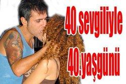 "Teoman... 10 ERKEK, 40 BAYANLA ""GRUP"" PARTİ..."