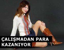 Nefise Karatay...ÇALIŞMADAN PARA KAZANIYOR