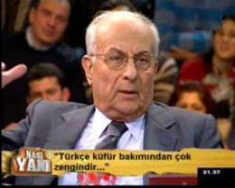 """Hakkı Devrim... """"TÜRKÇE KÜFÜR ZENGİNİ BİR DİL""""!..."""