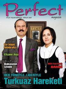 PERFECT DERGİSİ ARALIK SAYISI YİNE DOP DOLU