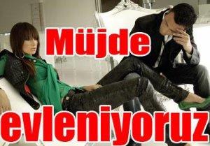 """Mustafa Sandal-Emina... """"MÜJDE!.. EVLENİYORUZ""""'.."""