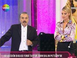 Ferdi Tayfur... PETEK DİNÇÖZ'ÜN PROGRAMINI BASTI!..