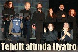NERDEYSE SEYİRCİ KADAR POLİS VARDI!..