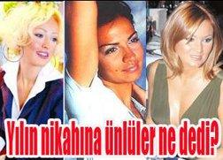 """CANLI""NİKAH KONUSUNDA HER KAFADAN BİR SES ÇIKTI!.."