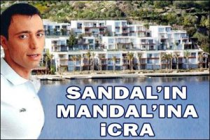 Mustafa Sandal... ORTAK OLDUĞU OTELE İCRA...