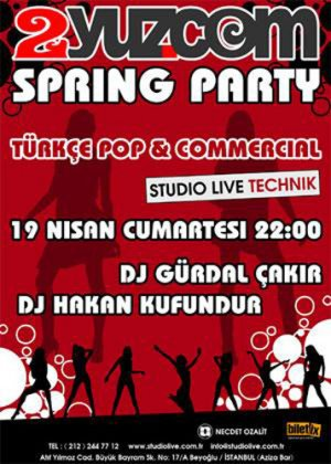 "2yuz.Com Spring Party? TÜRKİYE'NİN İLK ""CELEBRİTY""PARTİSİ?"
