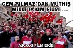 CEM YILMAZ'DAN MİLLİLERİMİZE MORAL VİDEOSU...