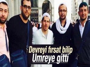 Emre Belözoğlu... DEVREYİ FIRSAT BİLİP UMRE`YE GİTTİ !..