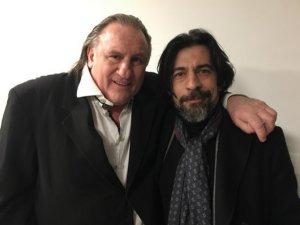 Gerard Depardieu ve Agathe Natanson... `AŞK MEKTUPLARI` OYUNU İLE İSTANBUL`U BÜYÜLEDİLER !..
