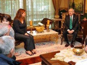 Kemal Kılıçdaroğlu... ÖZLEM AĞIRMAN`A TAZİYE ZİYARETİ...