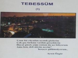 """Aysen Özgör... GERÇEK HAYAT HİKAYESİNİ """"TEBESSÜM"""" İLE OKUYACAKSINIZ !.."""