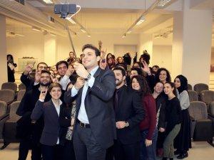 Mehmet Aslan... ÜNİVERSİTE ÖĞRENCİLERİ İLE BULUŞTU!