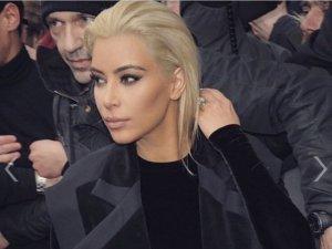 Kim Kardashian... SARI ŞEKER!
