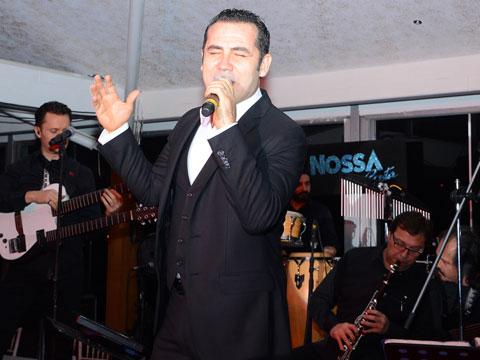 Ferhat Göçer... NOSSA COSTA'DA MÜZİK ŞÖLENİ!