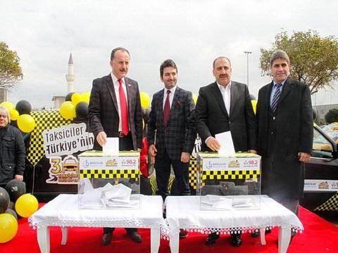 '3. Taksiciler Ödül Töreni'... TAKSİCİLER 'EN' LERİNİ SEÇİYOR !..