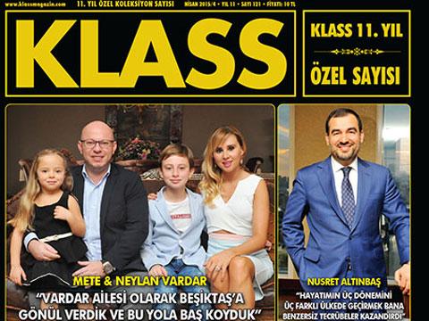 Klass Magazin... 11. YILA ÖZEL SAY!