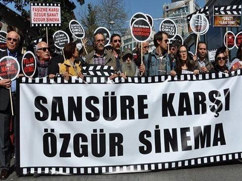 SANSÜRE KARŞI 'ÖZGÜR SİNEMA YÜRÜYÜŞÜ' YAPILDI!