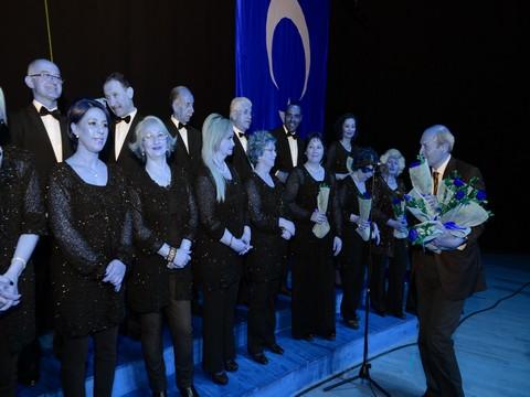 'Yeşilkent T.S.M Korosu'... SİTE SAKİNLERİNDEN SANAT MÜZİĞİ ZİYAFETİ !..