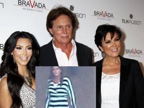 Kim Kardashian... BABASI KADIN OLDUKTAN SONRA İLK KEZ GÖRÜNTÜLENDİ !..