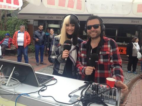 RADYO DJ'LERİ ORTAKÖY'Ü SALLADI!..
