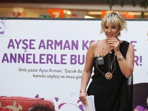Ayşe Arman... 'ANNELER GÜNÜ'NE ÖZEL, MATRAK BİR SÖYLEŞİ, !..
