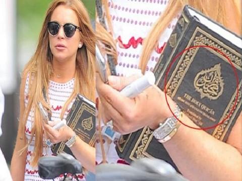 Lindsay Lohan... HOLLYWOOD'UN HAŞARI KIZI, MÜSLÜMAN MI OLDU ?..