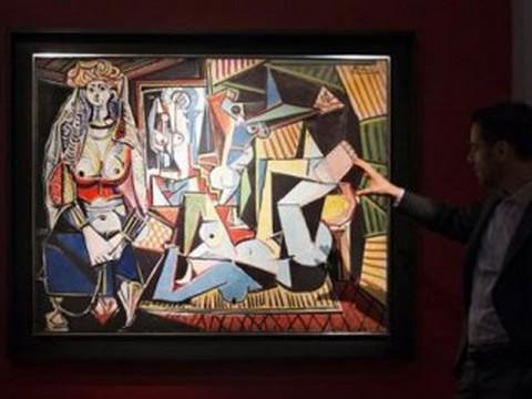 Picasso'nun Cezayirli Kadınlar tablosu... DÜNYANIN EN PAHALI FİYATINA SATILDI !..