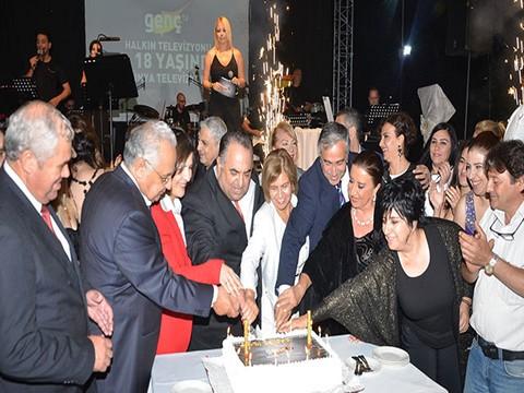Kıbrıs Genç TV... 18. KURULUŞ YILDÖNÜMÜNE YAKIŞAN ŞAŞALI BİR ÖDÜL TÖRENİ !..