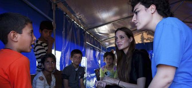 Angelina Jolie... 7. EVLATLIK SURİYE'DEN!..