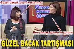Gülriz Sururi-Deniz Akkaya...TİYATRODA BACAK TARTIŞMASI!