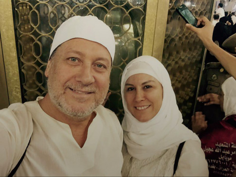 Ahmet Özhan... EŞİ İLE KUTSAL TOPRAKLARDA!