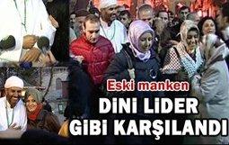 Yaşar Alptekin... HACDAN DÖNÜŞE GÖRKEMLİ KARŞILAMA !...
