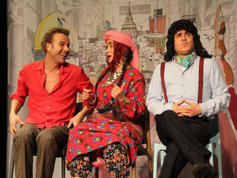 """Tiyatro Bozok... """"BURASİ ORASİ MİDUR?"""""""
