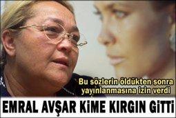 """Emral Avşar... """"BUNLARI BEN ÖLDÜKTEN SONRA YAYINLAYIN""""..."""