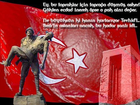 ÜNLÜLERDEN 18 MART ÇANAKKALE ZAFERİ PAYLAŞIMLARI!