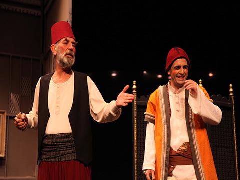 """İBBŞehir Tiyatroları... """"KOMİK-İ ŞEHİR NAŞİT BEY"""" ŞİLE TURNESİNDE!"""