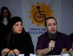 OMURİLİK FELÇLİLERİ DERNEĞİ'NE DESTEK VERDİLER!