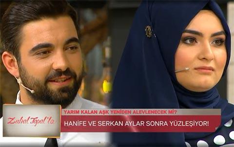 Zuhal Topal'la... HANİFE GERİ DÖNDÜ!