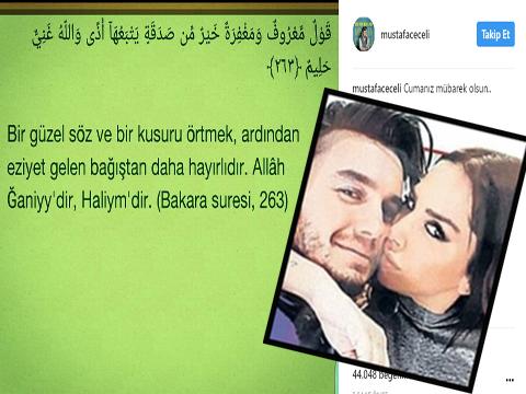 Mustafa Ceceli... ELEŞTİRİLERE DİN KALKANI!..