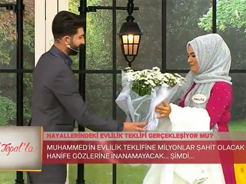 Zuhal Topal'la... HANİFE'YE SÜRPRİZ EVLENME TEKLİFİ