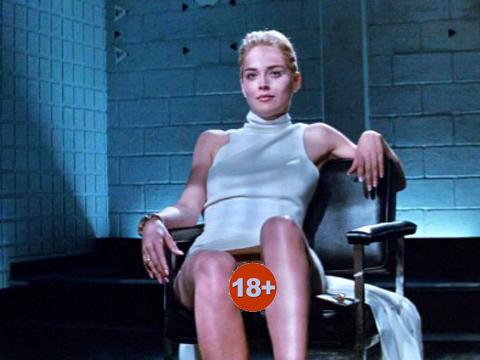 Sharon Stone... 61 YAŞINDA VE ÜSTSÜZ POZUYLA OLAY OLDU!