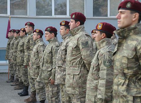 Savaşçı...KILIÇ TİMİ VE AZERBAYCAN ÖZEL KUVVETLERİ BARIŞ İÇİN EL ELE!