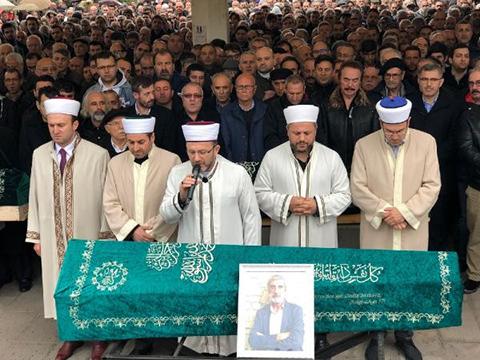 Ali Tekintüre... SON YOLCULUĞUNA UĞURLANDI!
